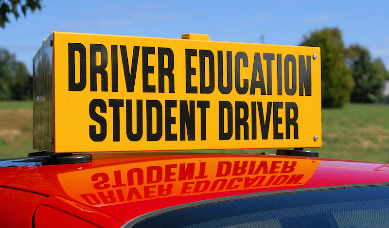 driving school behind the wheel and re examination